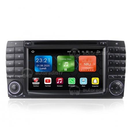 Autoradio GPS Android 9.0 Mercedes S-Classe W220 (1998-2005)