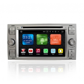 Autoradio GPS Android 9.0 Ford C-Max (2005-2007)