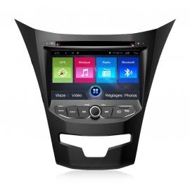 Autoradio GPS Android 7.1 SsangYong Korando 2013