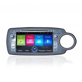 Autoradio GPS Android 7.1 Toyota Yaris 2012